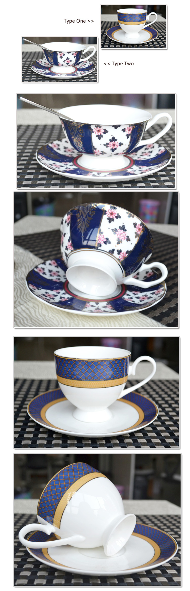 High-end Quality Afternoon Tea Teaware Coffee Cup